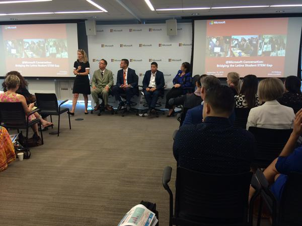 Coalition Joins Microsoft in Bridging the Latino Student STEM Gap