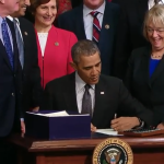 President Obama Officially Signing ESSA into Law