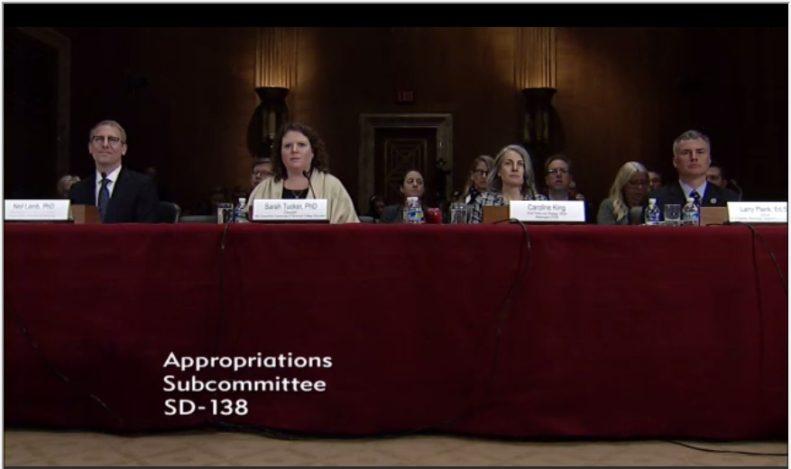 Senate Appropriations Holds STEM Education Hearing