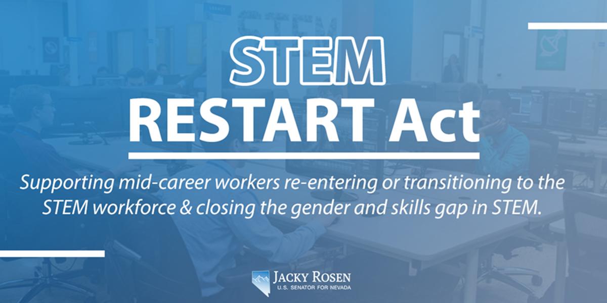 Senators Rosen and Hyde-Smith Introduce Bipartisan STEM Workforce Bill